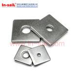 Quadratische Unterlegscheiben DIN436 für Gebrauch in den Bauholz-Aufbauten