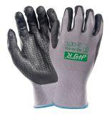 Установите противоскользящие Oil-Proof безопасности рабочие перчатки нитриловые с покрытием