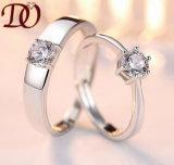 Колцеобразное уплотнение самой последней серебряной оптовой продажи кольца ювелирных изделий кольца популярной серебряной дешевое делая для людей и женщин