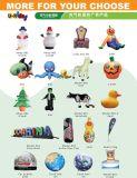 O Pai Natal Mascot fato para o festival chirstmas