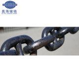 Van China Ketting van het Anker van de Link van de Nagel van de Verkoop van het ccs- Certificaat de Hete Mariene