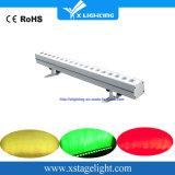 18*12W RGBW 4in1 Innenwand-Unterlegscheibe-Licht des pixel-LED hellen des Stab-LED