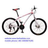 Bici de montaña de acero de la bicicleta del carbón de 26 pulgadas
