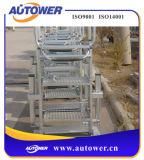 トラック/トレインへの安全なアクセスのための折りたたみ梯子階段