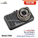 Câmera elevada do traço do carro da tela da definição 1080P LCD