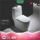 Toletta di ceramica di un pezzo del Wc della stanza da bagno di risparmio dell'acqua degli articoli di Lp1012 Santairy