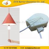 LEDライトのための引き込み式ケーブル巻き枠の拡張可能なコード