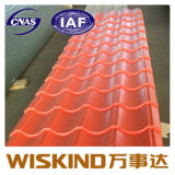 Revestimento de cor de PE Folha de telhas de aço com a norma ISO2000