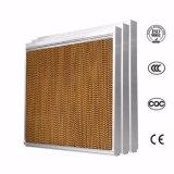 La miel de celulosa de peine de agua de refrigeración por evaporación de efecto invernadero almohadilla almohadilla de refrigeración de aire