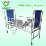 Aus rostfreiem Stahl hohes Schienen-Kind-Bett-Krankenhaus-Möbel-Krankenpflege-Bett