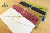 Sobre de papel de lujo del saludo/de la invitación de la impresión