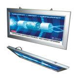 La pendaison l'aluminium panneau publicitaire Affichage LED à montage mural Slim Boîte à lumière