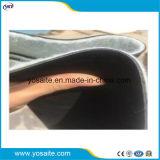 Caucho EPDM de alta elasticidad de la membrana impermeable con el respaldo de tela