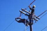(残される)電流を通された鋼線