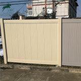 Valla de estilo norteamericano, la privacidad valla valla valla de PVC Panel