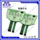 Membranschalter-Panel-Vorderseite-Tastatur