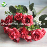 Künstlicher Hauptgroßhandelsdekor-Silk Rosefaux-Seide Rose
