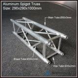 Boîte carrée en aluminium Truss Truss pour montrer l'étape