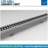 Im Freien Landschaftsbeleuchtung Intiground IP65 72W RGB LED Wand-Unterlegscheibe