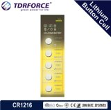 3V 0.00% Lagerbeständigkeits-China-Lithium-Batterie des Mercury-5years mit Ce/ISO/BSCI (CR2016)