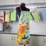 100% algodão Hotel Cozinha avental longo uniforme para as mulheres