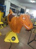 Rodeo meccanico del dinosauro per il gioco gonfiabile