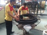 Boyau hydraulique tressé de fil (EN853-1SN-3/8)