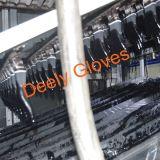 Тонкий трикотаж из полиэфирного волокна черного цвета черный провод фиолетового цвета перчатки
