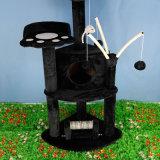 Gato de la actividad Scratcher árbol con el puesto de rascado y juguetes