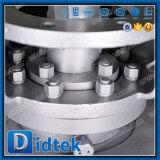 Didtek 100% Classe de teste300 Wcb Entrada Superior da Válvula de Esfera do Munhão