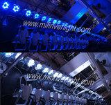 6PCS 12W 4 in 1 Licht van de LEIDENE RGBW MiniPartij van het PARI