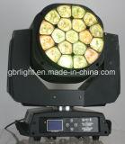 K10 Biene-Auge 19pcsx 15W RGBW 4in1 hohes bewegliches Hauptwäsche-Licht des Helligkeits-Summen-LED