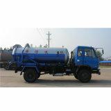 트럭을 빠는 Dongfeng 4*2 8000L 하수 오물 진공 흡입 트럭 하수 오물