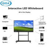Klassenzimmer-Gebrauch-einteiliger elektronischer intelligenter Vorstand interaktives Whiteboard