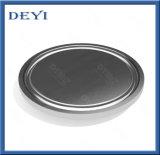 Protezione cieca dell'acciaio inossidabile del commestibile dell'estremità sanitaria igienica del puntale