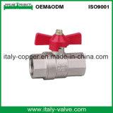 De Kogelklep van de Vlinder van het Messing van de kwaliteit (AV1054A)
