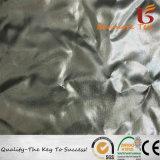 100%полиэстер 380t Pongee ткань с серебристым Bronzing для вниз куртки