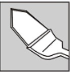 Lama chirurgica del diamante nero e maniglia del titanio