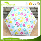 Gute Qualitätsförderung-beweglicher Miniregenschirm mit Fall