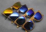 Promoção Vintage plástico óculos de sol com a marca do OEM