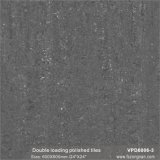 Matériau de construction de la porcelaine de chargement double carreaux de sol poli (VPD6006-2, 600x600mm)