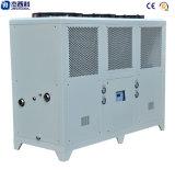 Ar industrial do pacote do compressor do rolo ao refrigerador de água