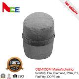 優秀な品質100%の平野のデニムの男女兼用の戦術的な軍の染められた軍の帽子