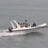 6.2M Liya Costela de PVC Barco com motor para venda