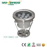 LED 12W luz subacuática con Ce/RoHS