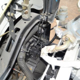 Jinsheng 10 de Kubieke Delen van de Vrachtwagen/van de Auto van de Concrete Mixer van Meters