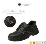 Schoenen van de Veiligheid van het Leer van de Binnenzool van de Teen van het staal de Werkende voor Mensen