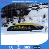 Grande sacchetto di aria gonfiabile per le prodezze dello Snowboard di avventura