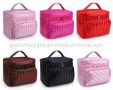 OEM водонепроницаемый полиэстер поездки для макияжа косметические дамской сумочке сумка для хранения