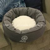 Della ciambella spessa rotonda grigia dei 25 '' piccola base dell'animale domestico del cane accessori dell'animale domestico